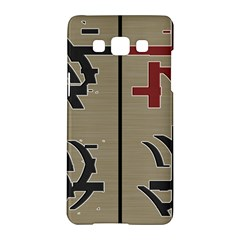 Xia Script On Gray Background Samsung Galaxy A5 Hardshell Case