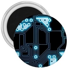 A Completely Seamless Background Design Circuitry 3  Magnets