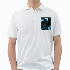 A Completely Seamless Background Design Circuitry Golf Shirts