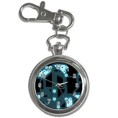 A Completely Seamless Background Design Circuitry Key Chain Watches
