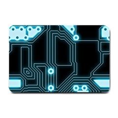 A Completely Seamless Background Design Circuitry Small Doormat