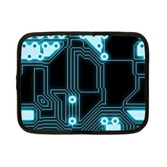 A Completely Seamless Background Design Circuitry Netbook Case (small)