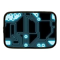 A Completely Seamless Background Design Circuitry Netbook Case (medium)