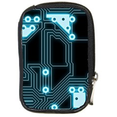A Completely Seamless Background Design Circuitry Compact Camera Cases