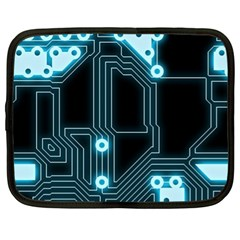 A Completely Seamless Background Design Circuitry Netbook Case (xl)