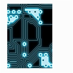 A Completely Seamless Background Design Circuitry Large Garden Flag (two Sides)