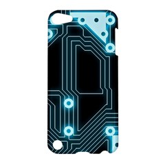A Completely Seamless Background Design Circuitry Apple Ipod Touch 5 Hardshell Case