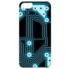 A Completely Seamless Background Design Circuitry Apple Iphone 5 Classic Hardshell Case