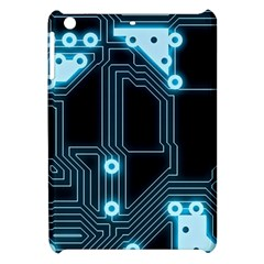 A Completely Seamless Background Design Circuitry Apple Ipad Mini Hardshell Case