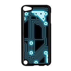 A Completely Seamless Background Design Circuitry Apple Ipod Touch 5 Case (black)