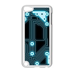 A Completely Seamless Background Design Circuitry Apple Ipod Touch 5 Case (white)