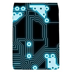 A Completely Seamless Background Design Circuitry Flap Covers (s)