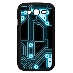 A Completely Seamless Background Design Circuitry Samsung Galaxy Grand Duos I9082 Case (black)