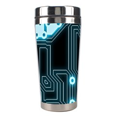 A Completely Seamless Background Design Circuitry Stainless Steel Travel Tumblers