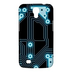 A Completely Seamless Background Design Circuitry Samsung Galaxy Mega 6 3  I9200 Hardshell Case