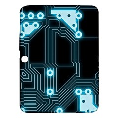 A Completely Seamless Background Design Circuitry Samsung Galaxy Tab 3 (10 1 ) P5200 Hardshell Case