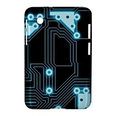 A Completely Seamless Background Design Circuitry Samsung Galaxy Tab 2 (7 ) P3100 Hardshell Case