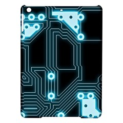 A Completely Seamless Background Design Circuitry Ipad Air Hardshell Cases