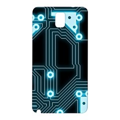 A Completely Seamless Background Design Circuitry Samsung Galaxy Note 3 N9005 Hardshell Back Case