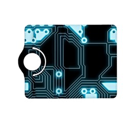 A Completely Seamless Background Design Circuitry Kindle Fire Hd (2013) Flip 360 Case