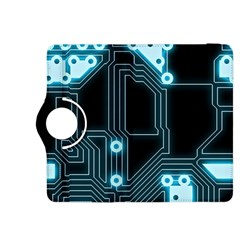 A Completely Seamless Background Design Circuitry Kindle Fire Hdx 8 9  Flip 360 Case