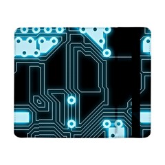 A Completely Seamless Background Design Circuitry Samsung Galaxy Tab Pro 8 4  Flip Case