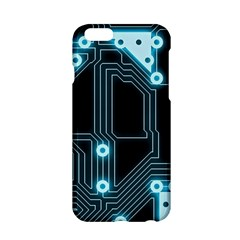 A Completely Seamless Background Design Circuitry Apple iPhone 6/6S Hardshell Case