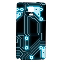 A Completely Seamless Background Design Circuitry Galaxy Note 4 Back Case