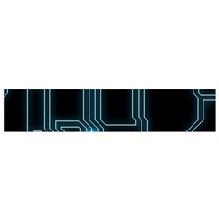 A Completely Seamless Background Design Circuitry Flano Scarf (small)