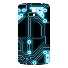 A Completely Seamless Background Design Circuitry Samsung Galaxy Mega I9200 Hardshell Back Case