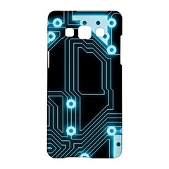 A Completely Seamless Background Design Circuitry Samsung Galaxy A5 Hardshell Case