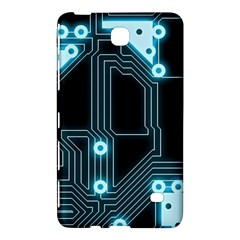 A Completely Seamless Background Design Circuitry Samsung Galaxy Tab 4 (8 ) Hardshell Case