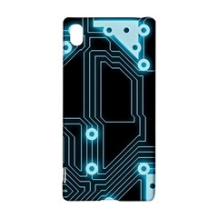 A Completely Seamless Background Design Circuitry Sony Xperia Z3+