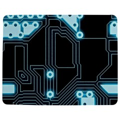 A Completely Seamless Background Design Circuitry Jigsaw Puzzle Photo Stand (Rectangular)