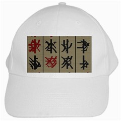 Ancient Chinese Secrets Characters White Cap