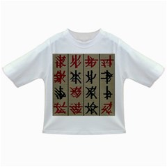 Ancient Chinese Secrets Characters Infant/toddler T Shirts