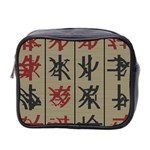 Ancient Chinese Secrets Characters Mini Toiletries Bag 2-Side Front