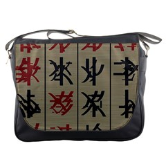 Ancient Chinese Secrets Characters Messenger Bags