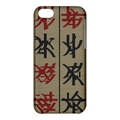Ancient Chinese Secrets Characters Apple Iphone 5c Hardshell Case