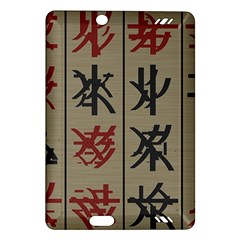 Ancient Chinese Secrets Characters Amazon Kindle Fire Hd (2013) Hardshell Case