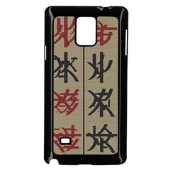 Ancient Chinese Secrets Characters Samsung Galaxy Note 4 Case (black)