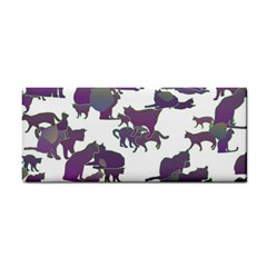 Many Cats Silhouettes Texture Cosmetic Storage Cases