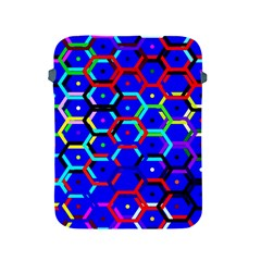 Blue Bee Hive Pattern Apple Ipad 2/3/4 Protective Soft Cases