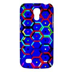 Blue Bee Hive Pattern Galaxy S4 Mini