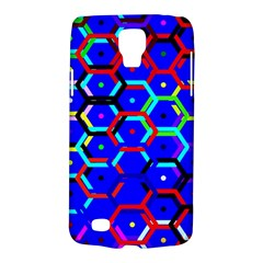 Blue Bee Hive Pattern Galaxy S4 Active