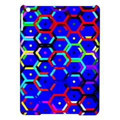 Blue Bee Hive Pattern Ipad Air Hardshell Cases