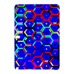 Blue Bee Hive Pattern Samsung Galaxy Tab Pro 10 1 Hardshell Case