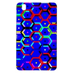 Blue Bee Hive Pattern Samsung Galaxy Tab Pro 8 4 Hardshell Case
