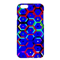 Blue Bee Hive Pattern Apple iPhone 6 Plus/6S Plus Hardshell Case