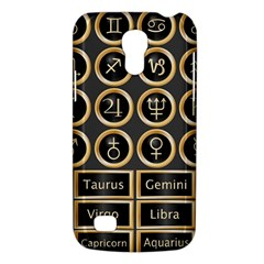 Black And Gold Buttons And Bars Depicting The Signs Of The Astrology Symbols Galaxy S4 Mini